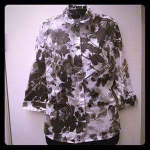 Calvin Klein Women's Button Down Shirt